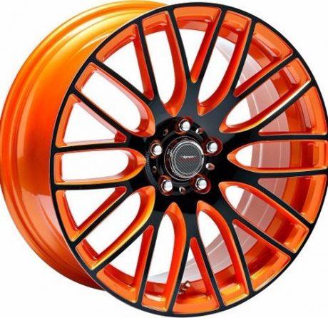 Speedster Orange Anodized Face Side